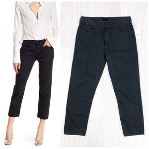Mother The Dropout Cropped Slim Jeans Size 28 New